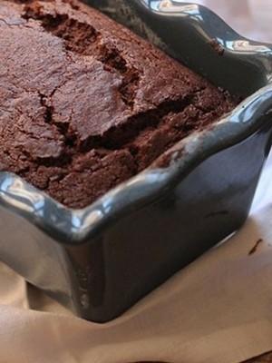 Super Chocolate Vegan plumcake